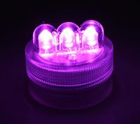 Purple LED Twist Light