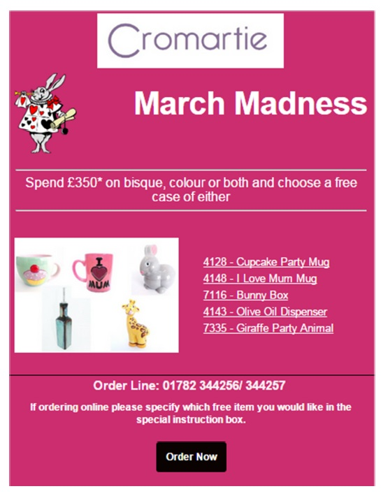 March 2015 Special Offer