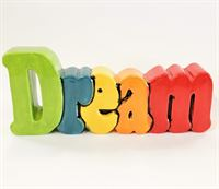 Dream Word Plaque Small