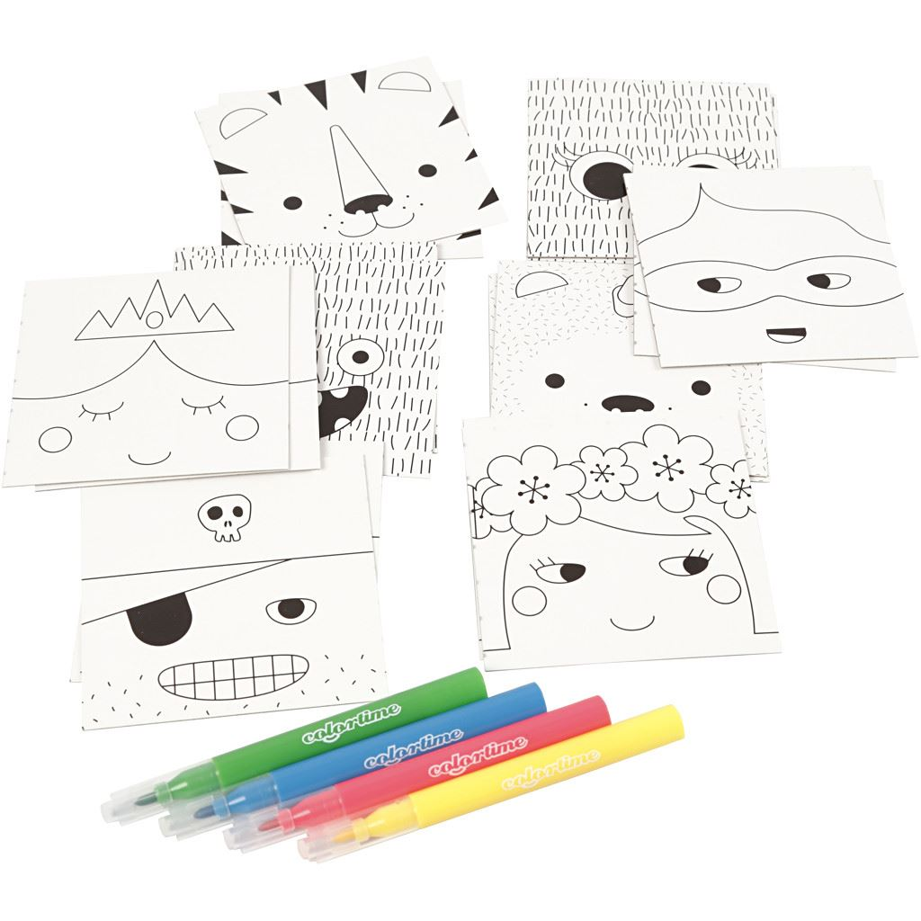 CH977214 Mini Creative Kit - Memory Cards(4)