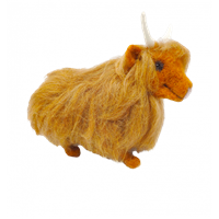 CKC-NF-164 Highland Cow Needle Felting Kit