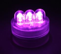LED Purple Twist Light