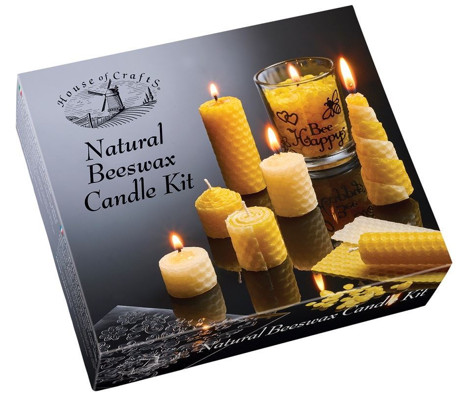 HC610 Natural Beeswax Candle Kit