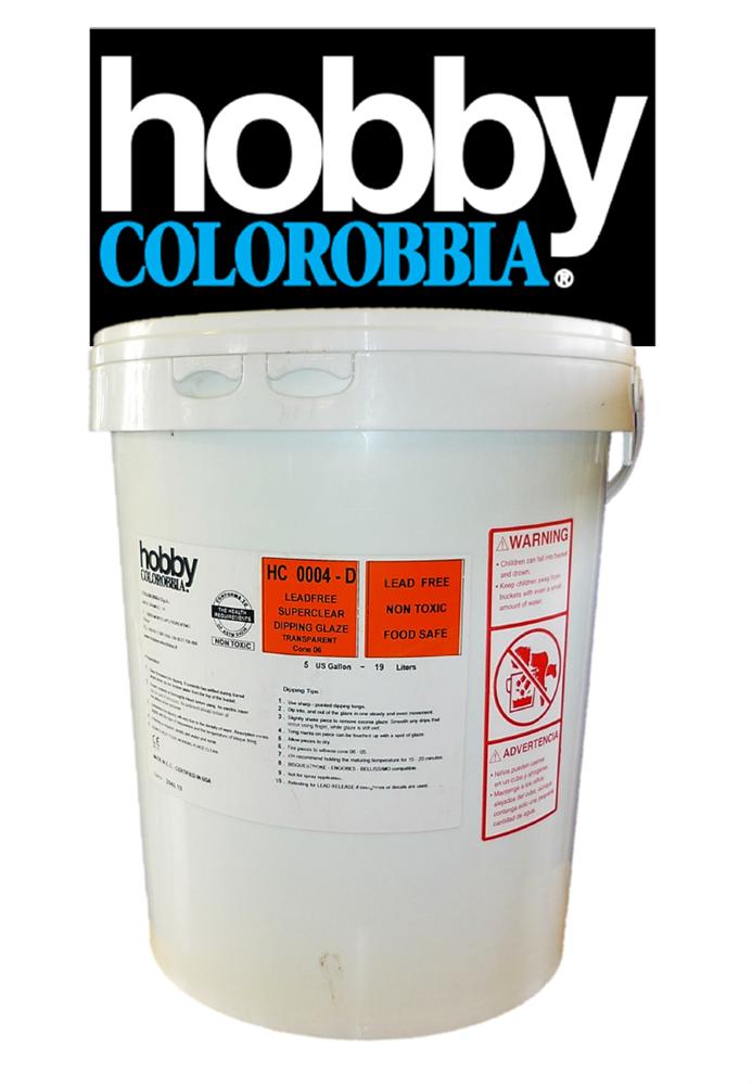 Hobby Colorobbia Clear Glaze 5 Gallon Cromartie