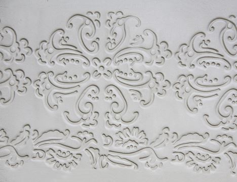 Baroque Textured Art Roller Pattern