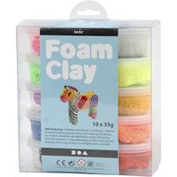 foam clay pack of 10