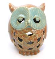 5143 owl lantern from front
