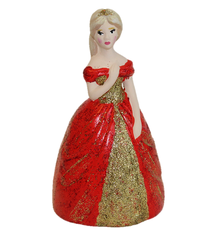 7355 Princess Party Animal in red