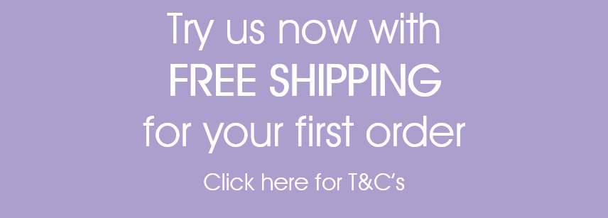 Free shipping for your first order