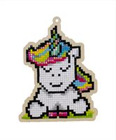 WW293 Rainbow Unicorn- Diamond Art Painting Kit