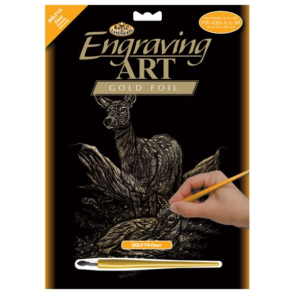 GOLF15-Deer Gold Engraving Kit outer