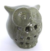 5196 Owl Lantern Votive finished