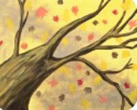 Fall Tree- Canvas Design Pattern Pack