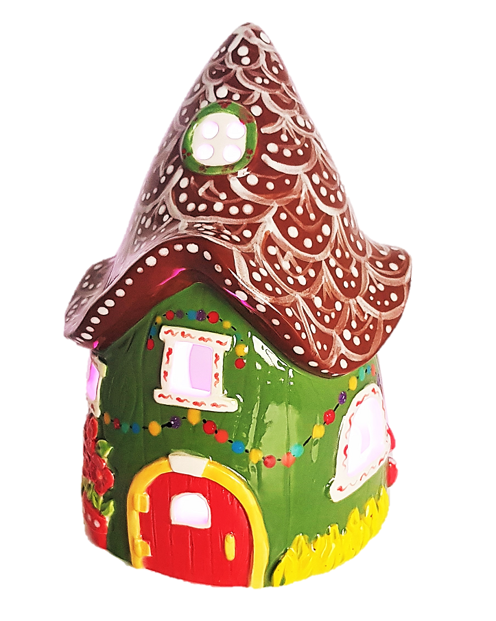 Fairy House Lantern Christmas Design