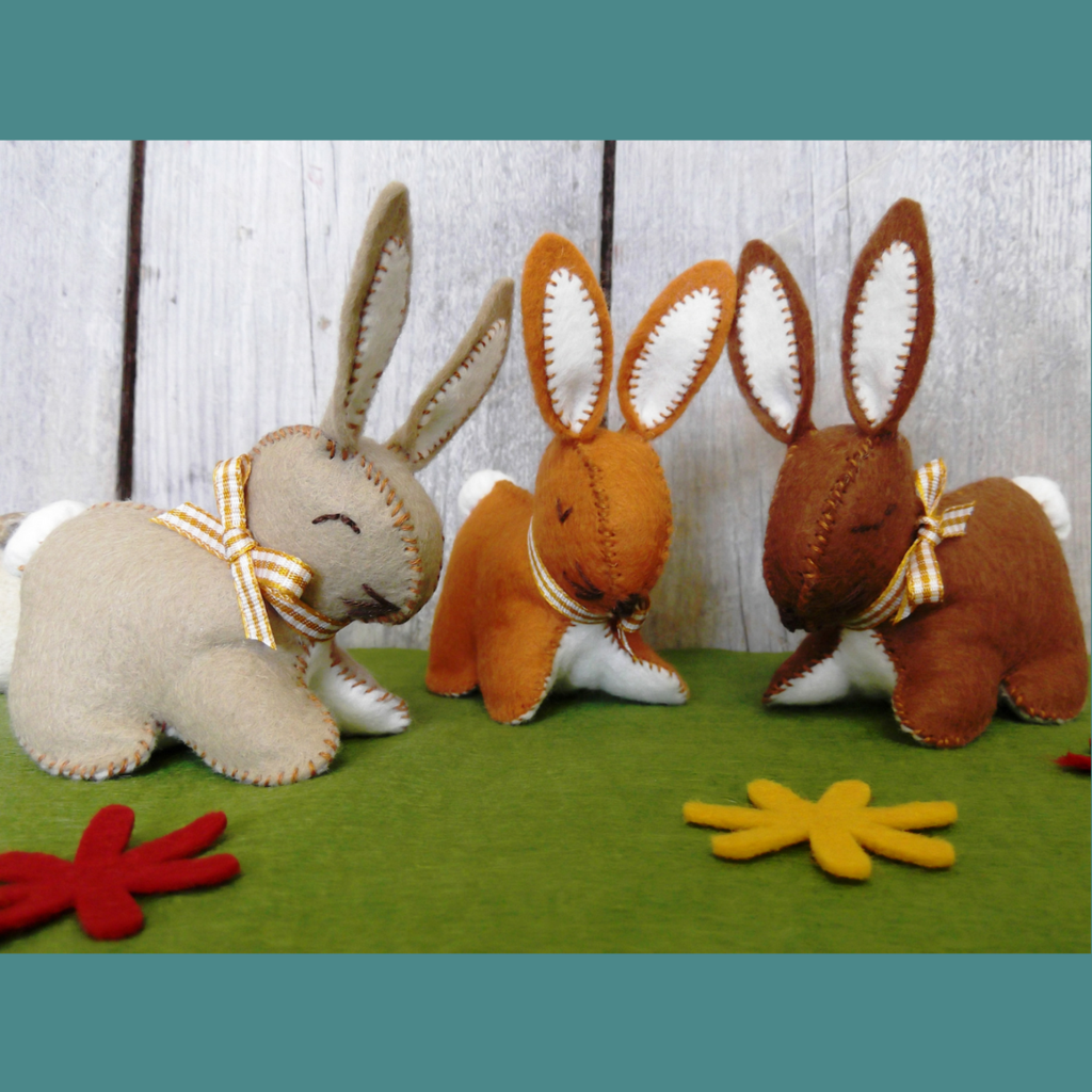Felt Bunnies Craft Kit