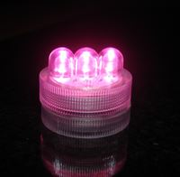 Pink LED Twist Light