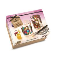 Start a Craft Glass Painting Craft Kit