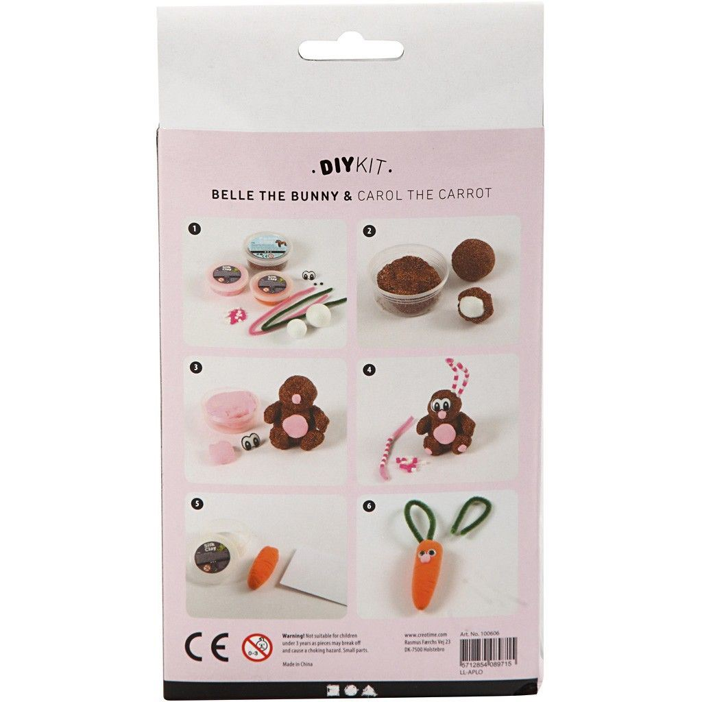 CH100606 Belle the Bunny DIY Kit reverse