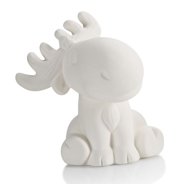 7357 Moose Party Animal plain bisque