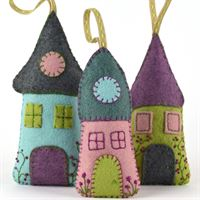 Lavender Houses Felt Craft Kit