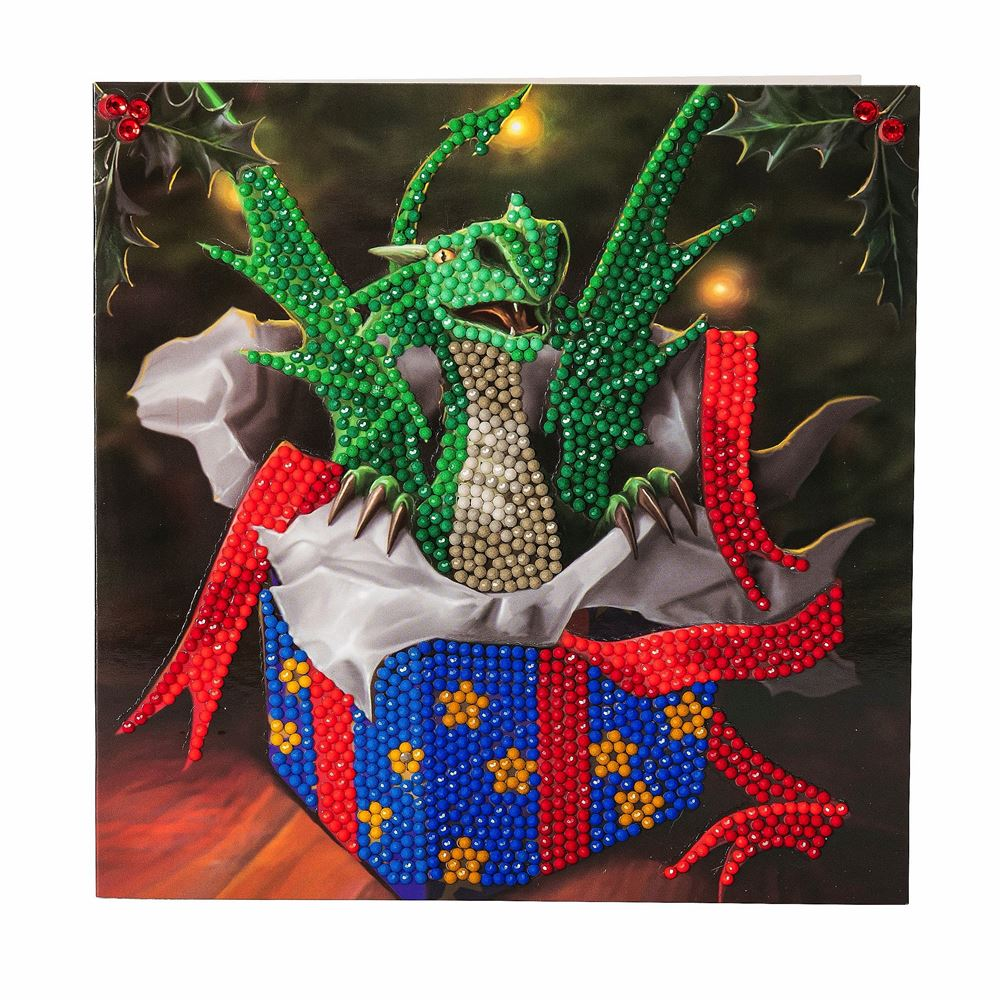 CCK-XM34 Dragon Gift Crystal Art Card Kit