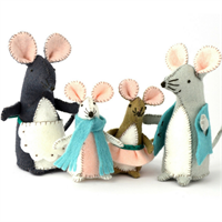 Mouse Family Craft Kit