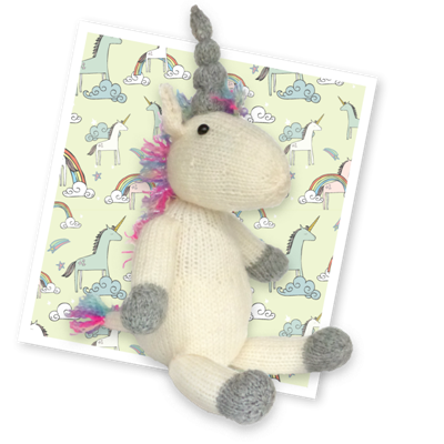 Knit Your Own Unicorn Knitting Kit