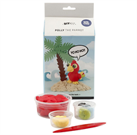 CH100747 Polly the Parrot Silk Clay Kit