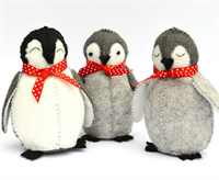 Baby Penguins Felt Craft Kit