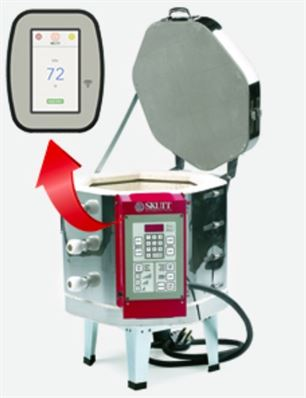 KMT714 Electric Kiln with Touchscreen Controller