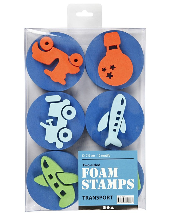 CH28556 Foam Stamps Transportation Pack