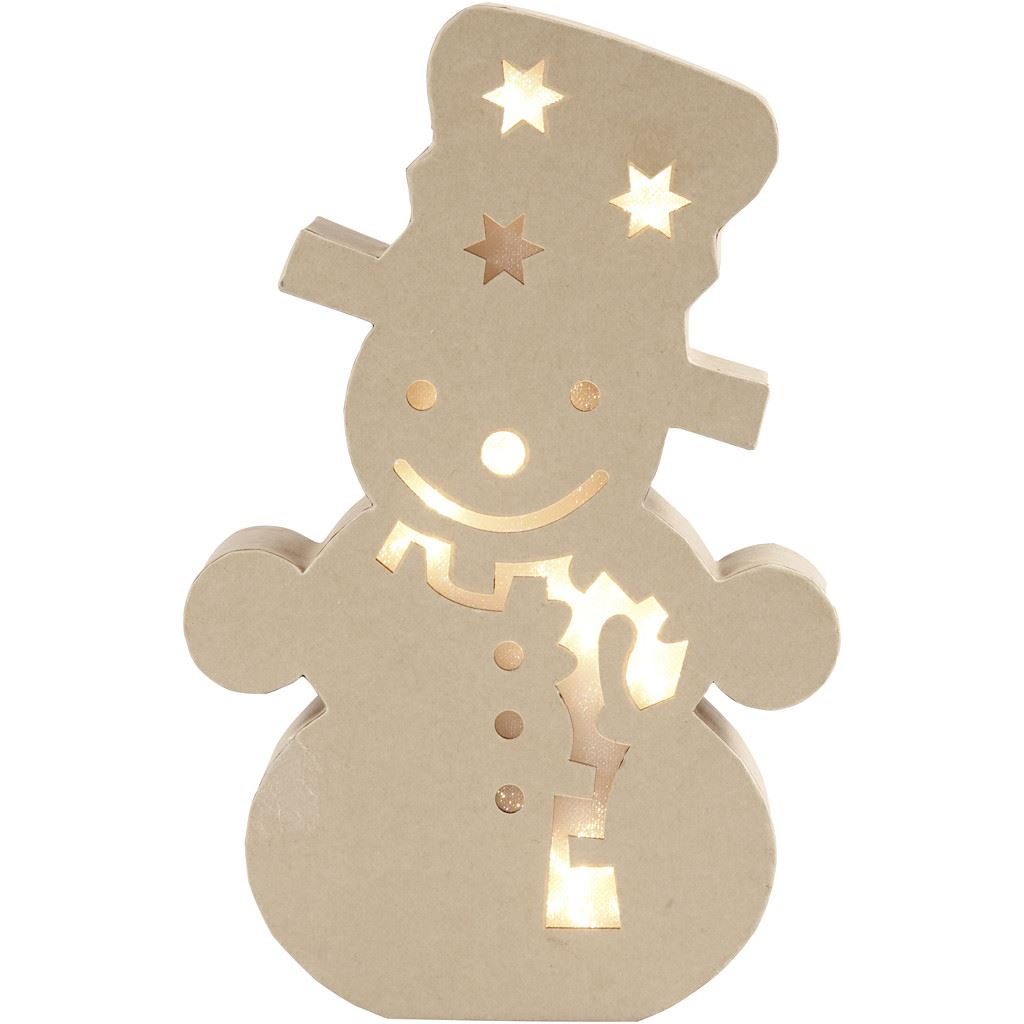 CH54906 Snowman Light Up Figure