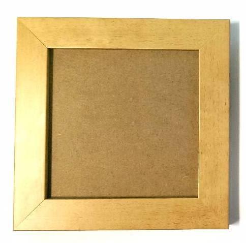 Pine Tile Frame Arts Crafts Design Box Frames Tile Frames