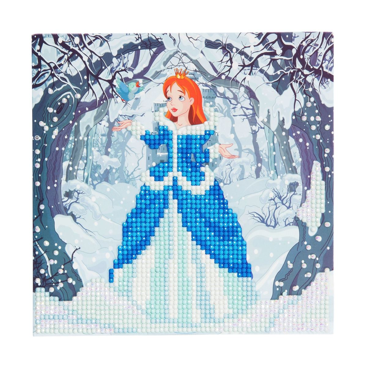 Enchanted Princess- Crystal Art Card 5D Diamond Painting Kit