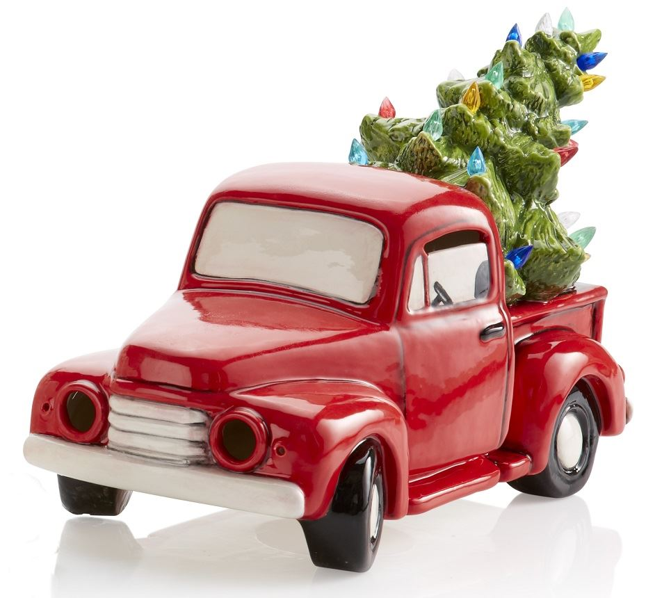 5312 Vintage Truck with Christmas Tree