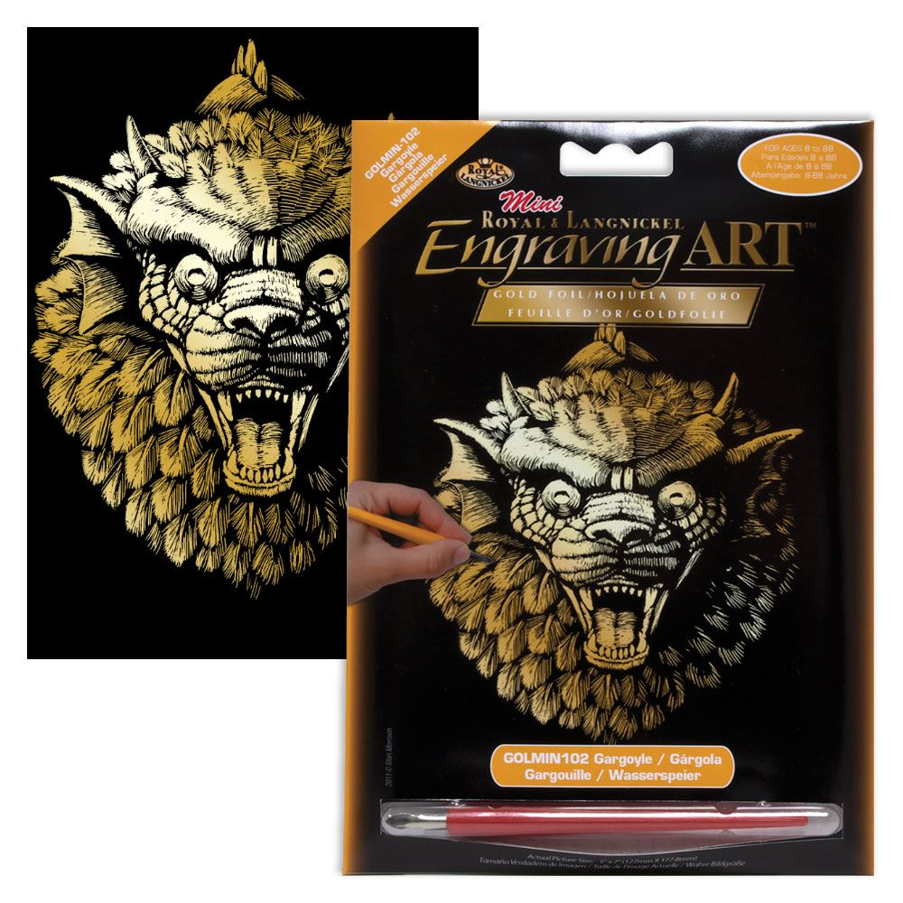GOLMIN-102-Gargoyle Mini Engraving Kit