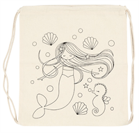 CH499653 Mermaid Drawstring Bag