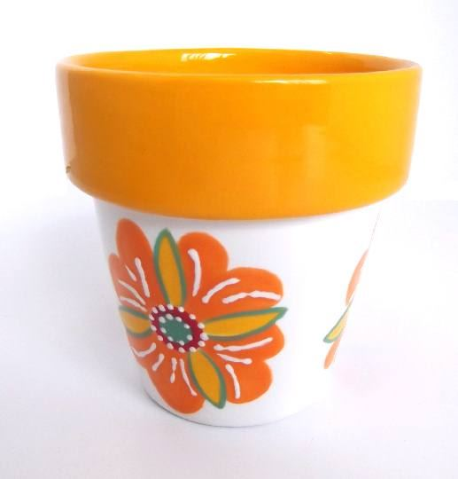 Small Flower Pot and Saucer 5057 small flower pot ...  sc 1 st  Cromartie Hobbycraft & Small Flower Pot \u0026 Saucer- Bisque Ceramic Shapes for Painting ...