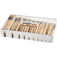 CH10648 Nature Line Paint Brushes, 120 Assorted