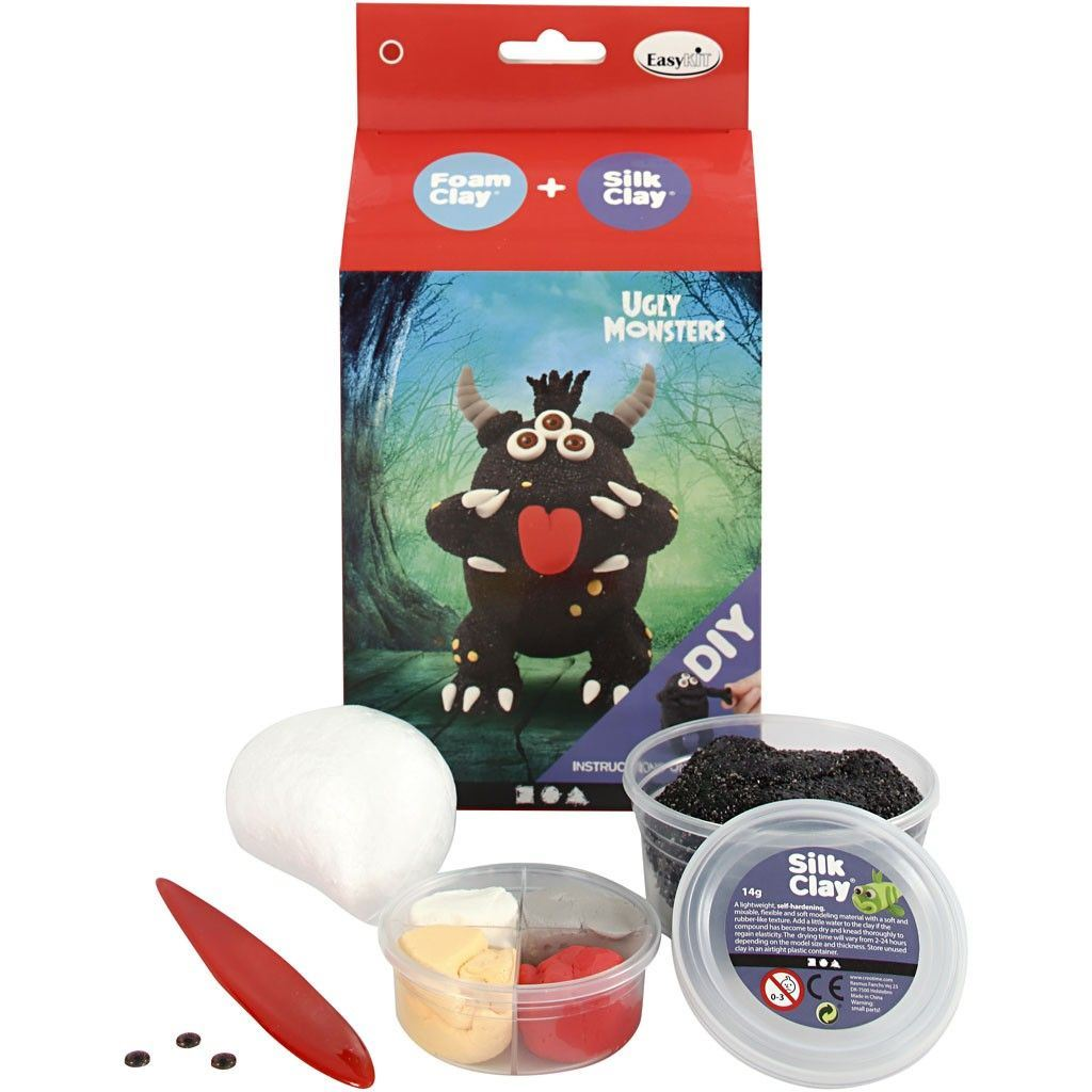 Ugly Monster Foam Clay Kit Black 100617