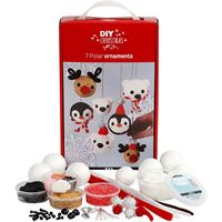CH97057 Polar Ornaments Foam Clay Kit