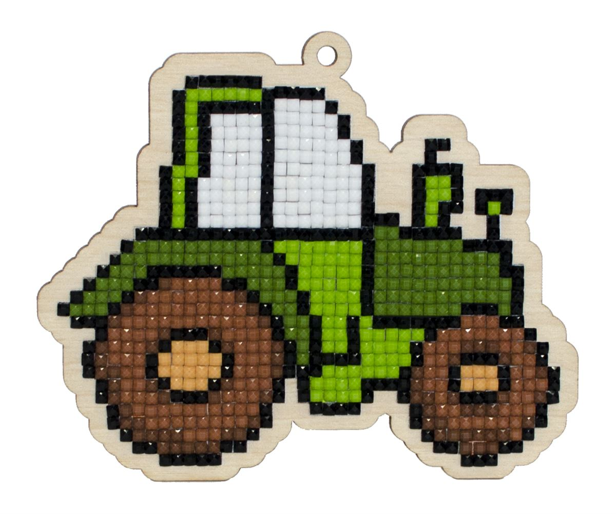 WW198 Tractor- Diamond Art Painting Kit