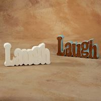 5200 laugh word plaque