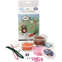 CH100606 Belle the Bunny Silk & Foam Clay DIY Kit