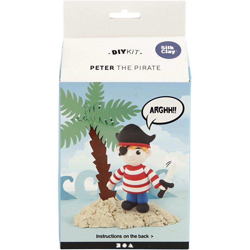 CH100745 Peter the Pirate Foam Clay Kit