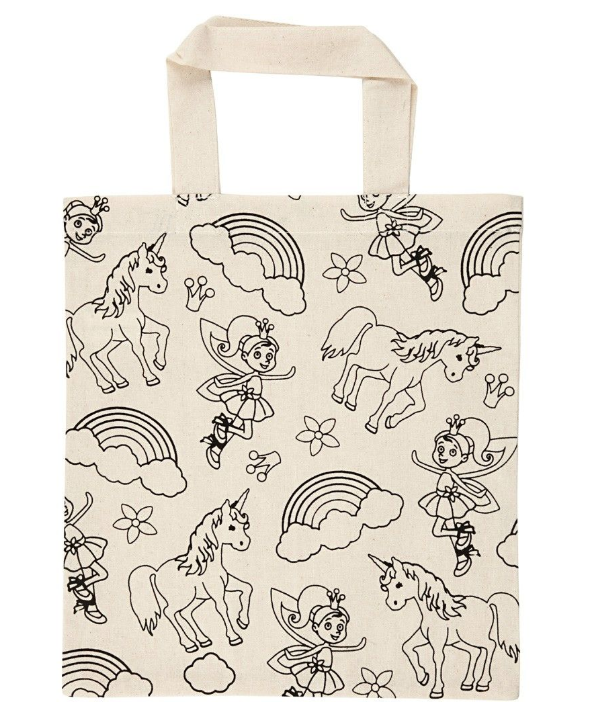 Unicorn/Fairy/Rainbow Shopping Bag 27.5 x 30cm