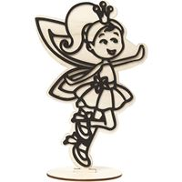 CH791953 Fairy Wooden Figure