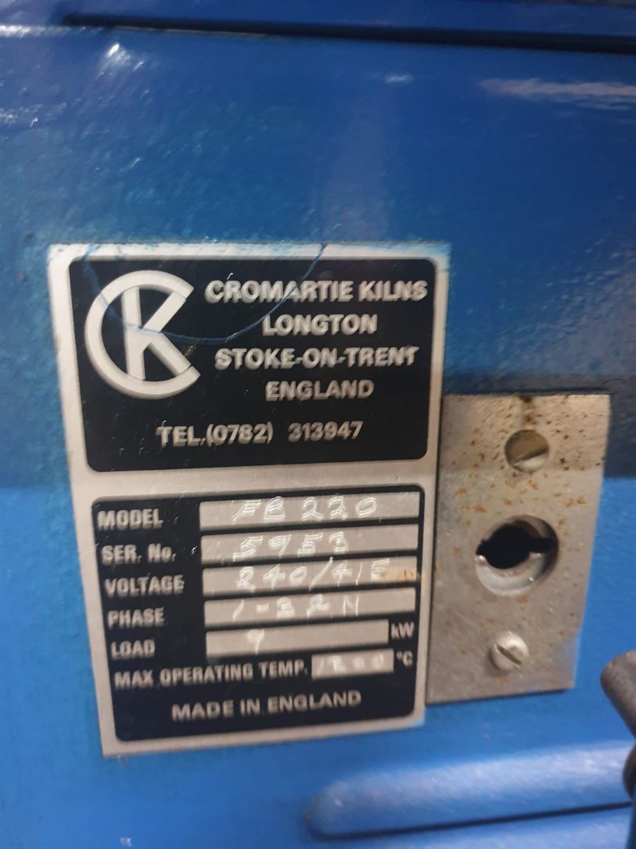 CR220FB Refurbished Kiln Wired for Controller