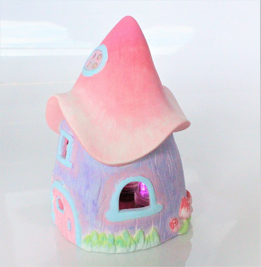 Fairy House Lantern (Side)