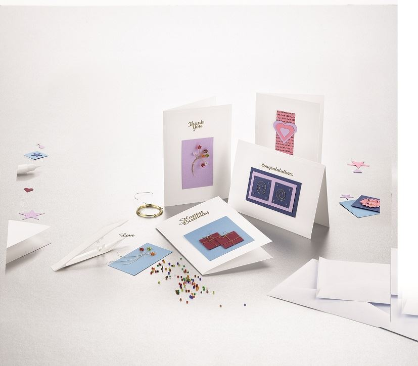 HC420 Creative Card Craft Kit contents